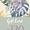 Gift Card 130 – Negozio