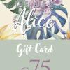 Gift Card 75 – Negozio